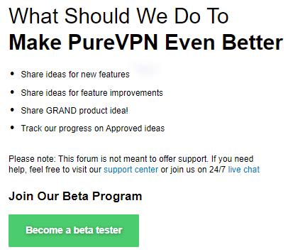 Make-PureVPN-Better