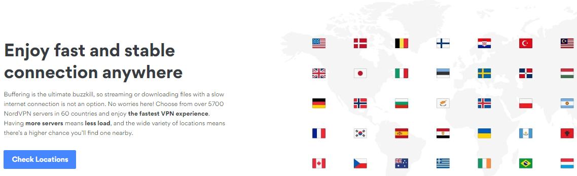 Nord VPN Server Locations
