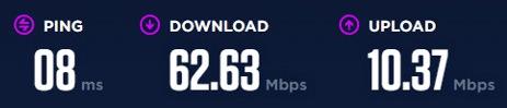 Nord VPN Speed Test