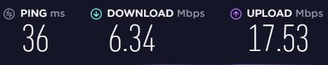 Cyberghost-VPN-Speed-test