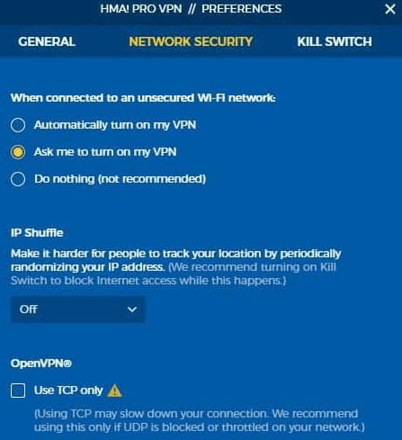 HideMyAss-VPN-for-Windows-client