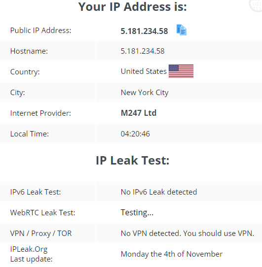 Review of iVacy VPN Features